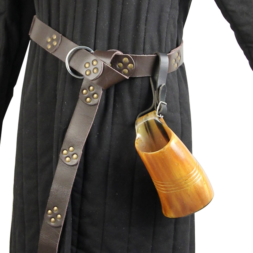 Handmade LEATHER Its a Party Tankard Strap